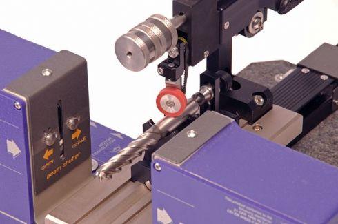 Medidor de diâmetro a laser de ferramentas de corte e usinagem
