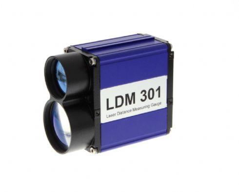 Medidor de distância e velocidade laser para longas distâncias LDM301 LDM302