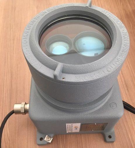 Medidor de distância laser para área classificada