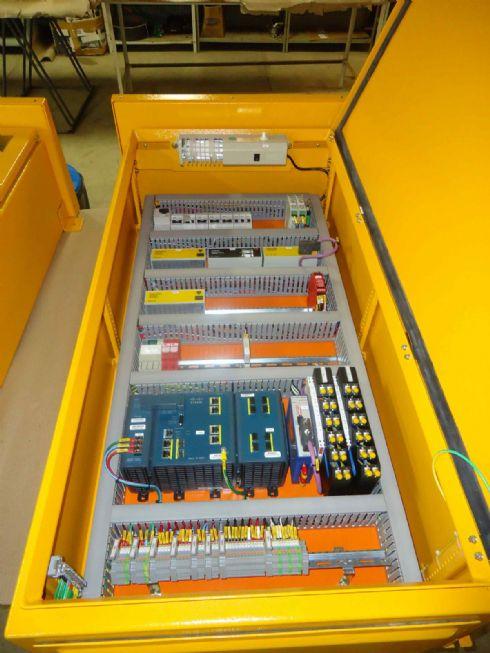 Monitoração de chaves de emergência em transportadores de correia Dupline Safe