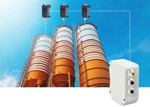 Sistema de medição e controle de nível de silos a laser - controle de inventário de silos